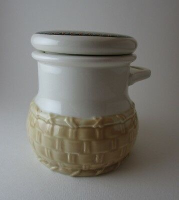 Butterfly Brand First Quality Relish Ceramic Jar Made in Japan