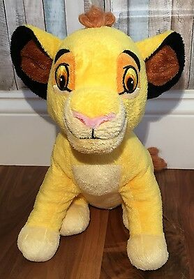 "Disney Baby Simba White Noise Lullaby Plush 12""  Tested & Works Cloud B"