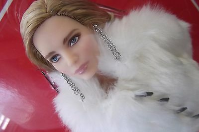 Natalia Vodianova Barbie & Inspired By Louis Vuitton Collection Faux-Fur Jacket