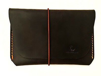 Leather Passport Holder For Men & Women Family Travel Wallet Organizer Brown