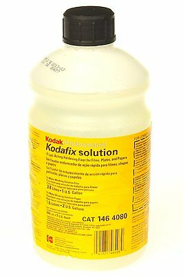 Kodak Kodafix Black & White Film and Paper Fixer with Hardener, Liquid, Makes 1