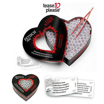 Cuore Kinky, stravagante gioco per coppie Tease & Please couples game