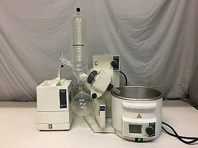 Buchi R-210 Rotavapor With B-491 Oil-WaterBath & V-700 Vac Pump