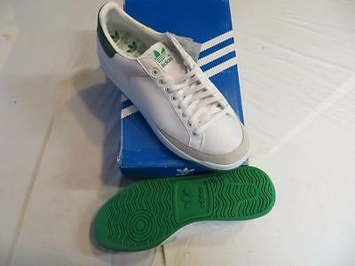 Adidas Rod Laver Originals (G99863) Men's Sz 8.5 White/green Mesh/suede