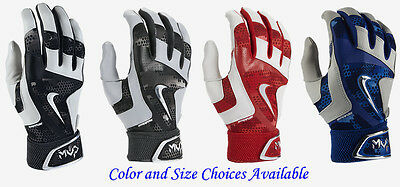 Nike MVP Elite Pro 2.0 Adult Baseball Batting Gloves -Color/Size Choices