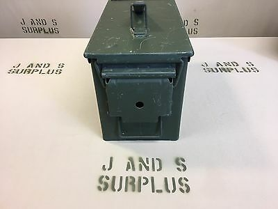 Ammo Can US Army Military M2A1 50 Cal Ammunition Metal Storage 5.56MM Stash box