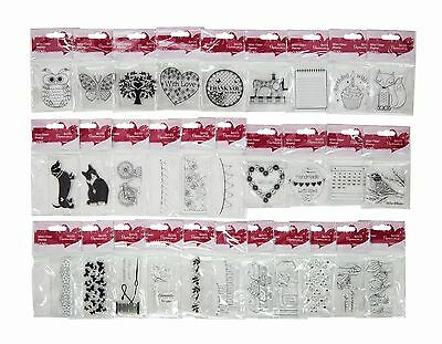 Everyday Mini Clear Stamp - Docrafts - 30 designs - free UK p&p for extra stamps