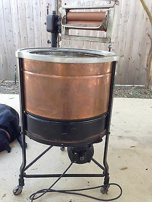 Antique 1912 Era Easy Copper Drum Washing Machine  Syracuse washing machine co.