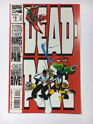 Deadpool #3 NM Circle Chase Marvel comic 1993