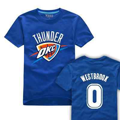 Russell Westbrook 0 Kids Youth Jersey Tops T Shirts Shirts Oklahoma City Thunder