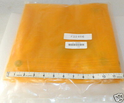 6 foot square  welder curtain  Transparent yellow Vinyl  Steiner 334-6X6