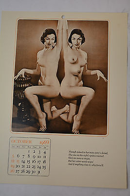 Oct.1969 Oddities Calendar Siamese Twins Joined To Her Twin Sisters Dorsal