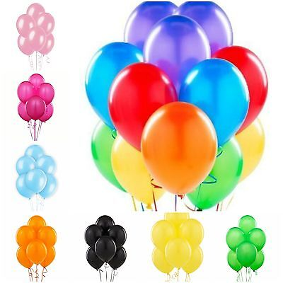 NEW LARGE PLAIN BALONS BALLONS helium BALLOONS Quality Birthday Wedding BALOONS