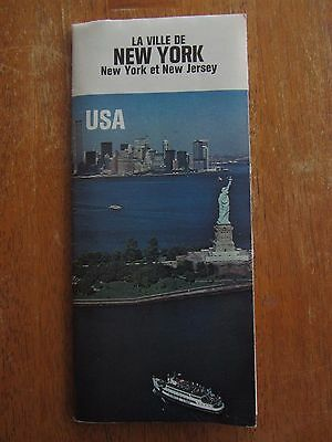 Ancien Plan New York World Trade Center 1976