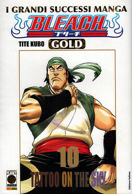 manga BLEACH Nr. 10 GOLD Deluxe NUOVO Sconto 50% Ed. Panini Planet