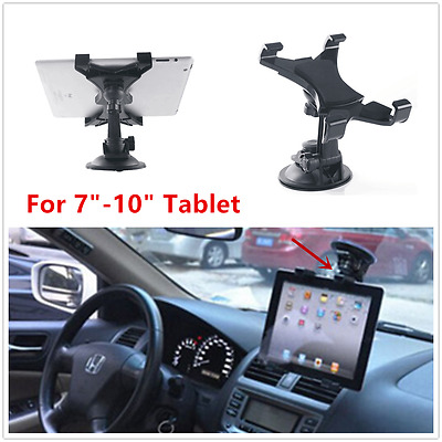 "Car Suction Cup Windshield Dashboard Mount Holder Bracket for 7""-10"" iPad Tablet"
