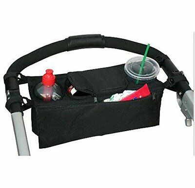 Cup Bottle Drink Food Holder Storage Bag Organiser for Pram Pushchair...
