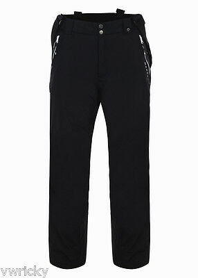 Dare2b Keep UP MENS BLACK Ski Salopettes Pants Braces SHORT LEG SIZE XS - 7XL