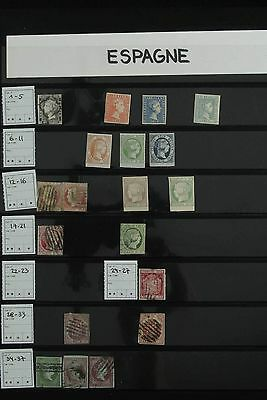 Lot 26898 Collection stamps of Spain 1850-1900.
