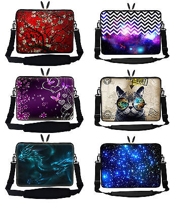 2018 High Quality Laptop Notebook Bag with Shoulder Strap 10 inch to 17.3 inch