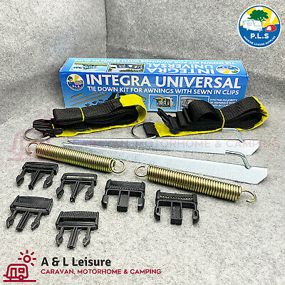 Integra Awning Storm Tie Down Clip In Strap Kit Dorema Pyramid StarCamp NR Quest