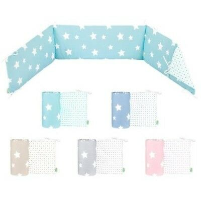 Odenwälder 4065 Jersey crib sheets White Stars Choice of colours