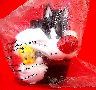 Sylvester & Tweety Collectors Mug-1995 Looney Tunes Promotional-NEW-Collectable!
