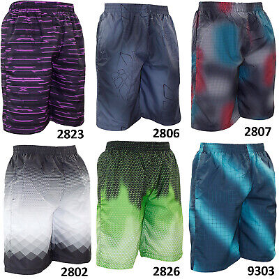 New Mens Swim Summer Holiday Beach Shorts Water Repellent Mesh Lined Board Trunk