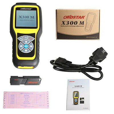 OBDSTAR X300M X 300M Special for O-dometer Adjustment and OBDII  express ship