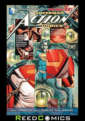 SUPERMAN ACTION COMICS VOLUME 3 AT THE END OF DAYS GRAPHIC NOVEL New Paperback