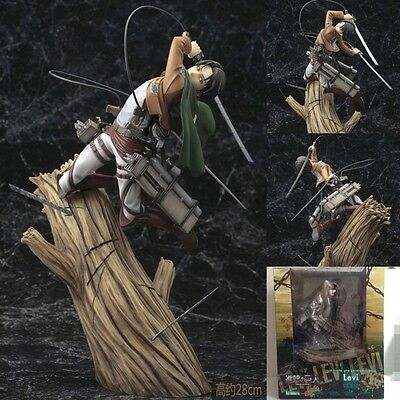 Attack On Titan Levi 1/8 Scale Pre-Painted Figure Collection New in Box