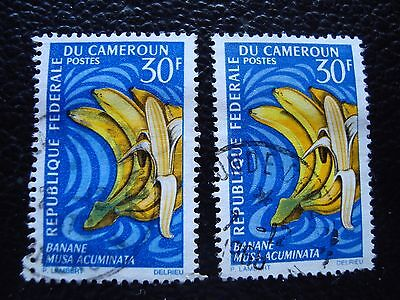 CAMEROUN - timbre yvert et tellier n° 449 x2 obl (A33) stamp cameroon (r)