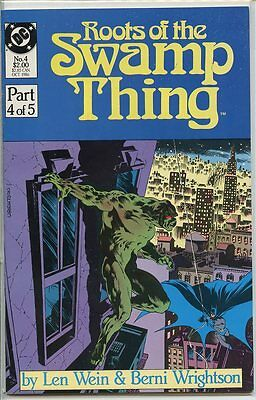 Roots of the Swamp Thing 1986 series # 4 very fine comic book