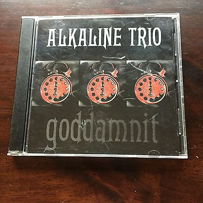 Goddamnit! [PA] by Alkaline Trio (CD, Oct-1998, Asian Man Records)