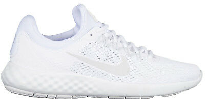 New Mens Nike Lunar Skyelux Running Shoes 855808-100 White Pure Platinum c1