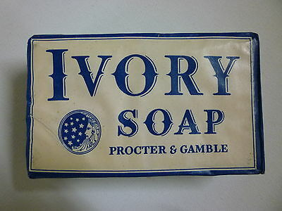 VINTAGE ORIGNAL WWII 1940's PROCTER & GAMBLE IVORY SOAP BAR LARGE-Multi Avail.