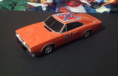 "1:18 scale ""Dukes of Hazzard"" Remote Control Car Loose Works Great"