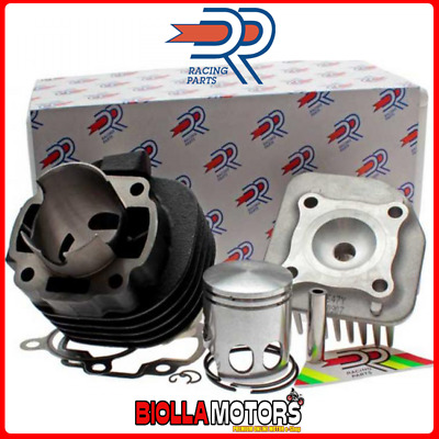 Kt00087 Gruppo Termico Dr Evo 70Cc D.47 Mbk Ovetto 50 2T Sp.10 Ghisa