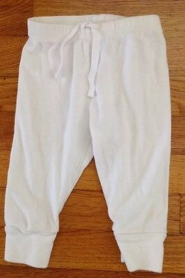 unisex baby boy girl babyGap white pants size 3-6 months