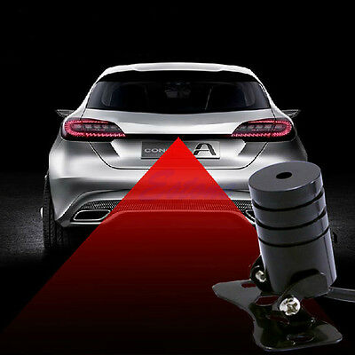 Laser Taillight Safety Signal Brake Tail Fog Light Auto Moto for Car Motorcycle