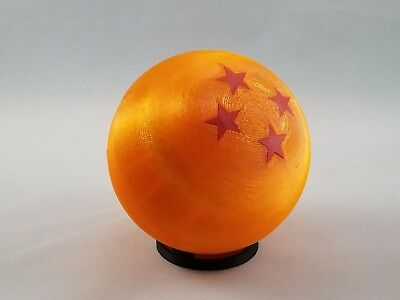 3 Star Dragon Ball Herb Grinder Translucent MADE IN USA