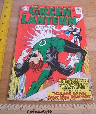 Green Lantern 33 comic 1960's Silver Age VG+ 12 cent Dr. Light