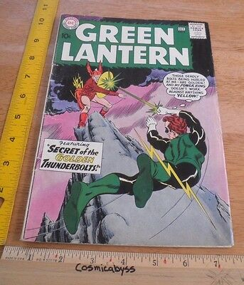 Green Lantern 2 comic 1960's Silver Age VG 10 cent 1st Pieface