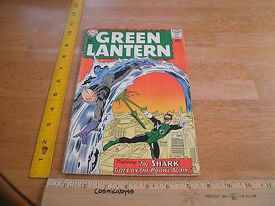 Green Lantern 28 comic 1960's Silver Age VG 12 cent The Shark