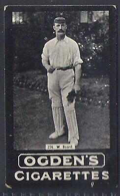 Ogdens Tabs-Series F Cricket Card-#f276- Gloucestershire - Board