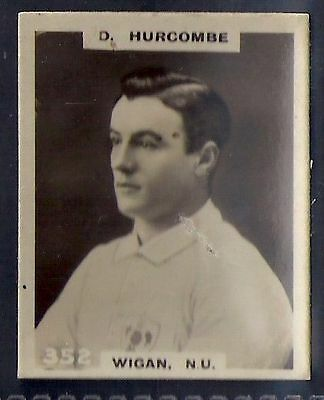 Pinnace Football-Black Oval Back-#0352- Rugby - Wigan. N.u. - D. Hurcombe