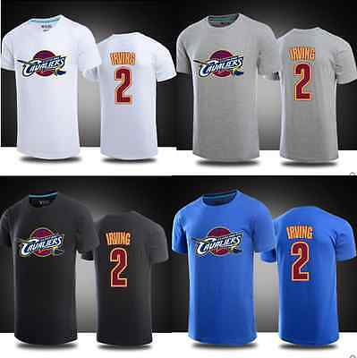 Kyrie Irving #2 Kids Youth Jersey Tops T Shirt Shirts Cleveland