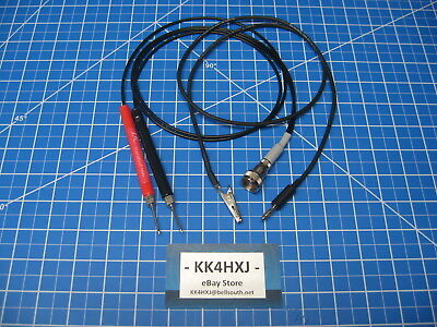 Custom VTVM Probe Set - Assembled - B&K/Eico/Knight/RCA/Paco Meters & More