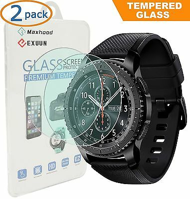 (2-Pack) Samsung Gear S3 Classic / Frontier Screen Protector Tempered G...