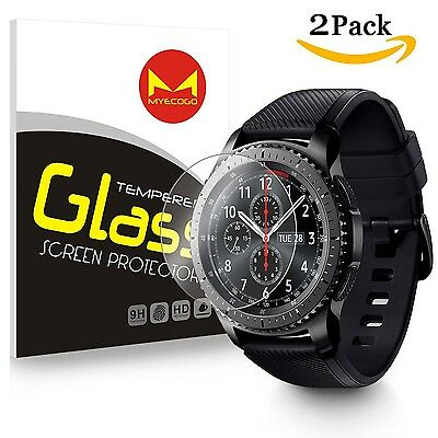 Samsung Gear S3 classic/Gear S3 Frontier Watch Tempered Glass Screen Protecto...